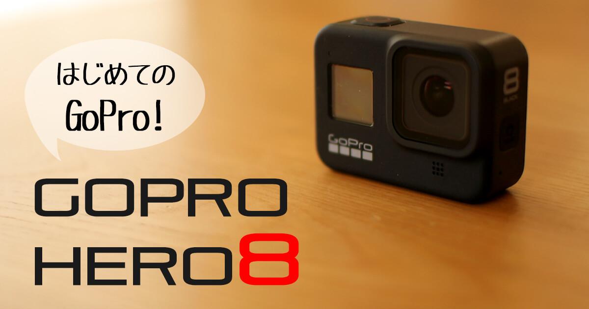 【はじめてのGoPro】GoPro Hero8 Blackが届きました!