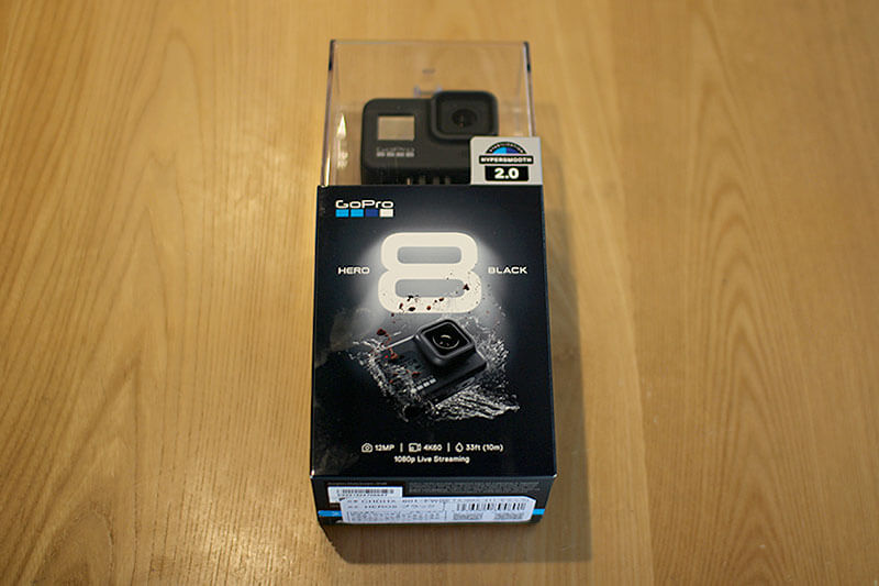 GoPro Hero8 Black パッケージ