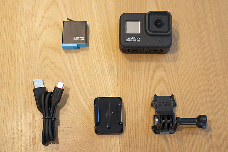 GoPro Hero8 Black 同梱品