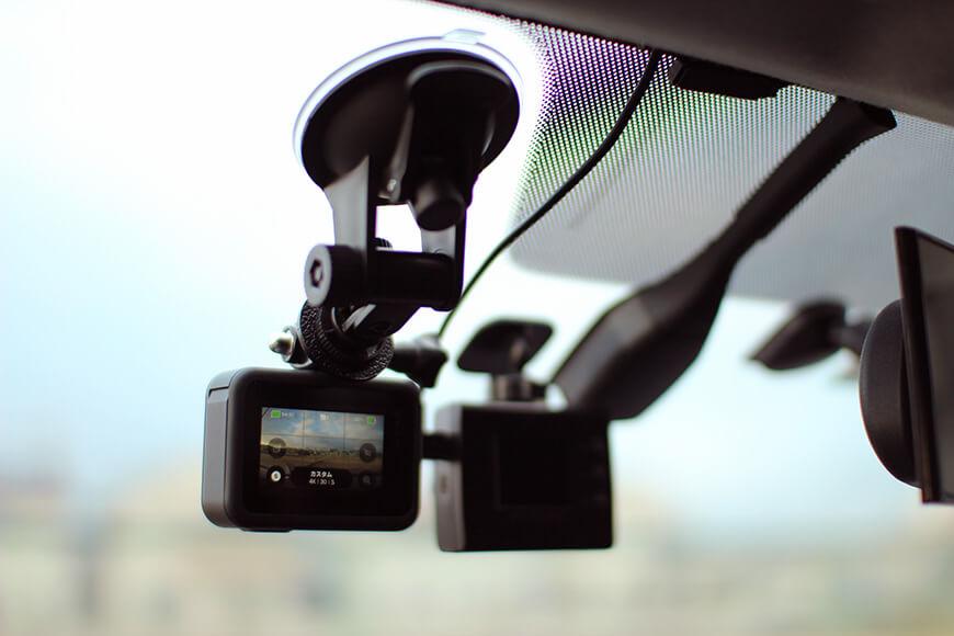 車載動画の撮影環境とGoProの設定