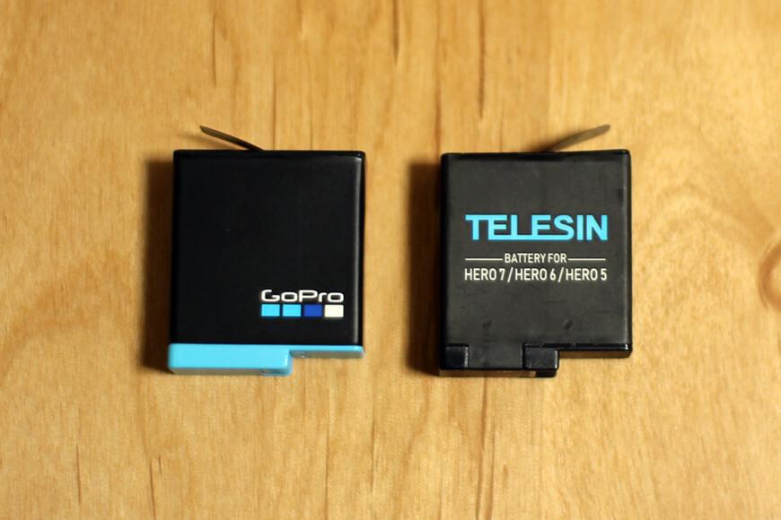 純正バッテリーとTELESINバッテリーの違いは?