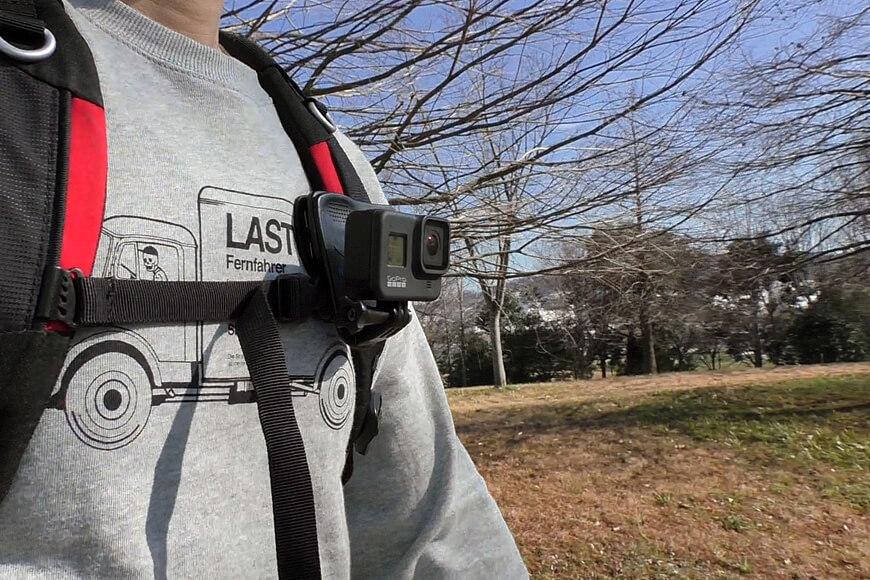 クリップマウントを使って歩き動画を撮影した感想